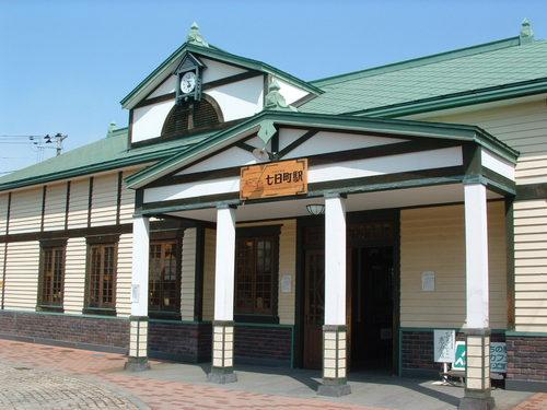 七日町駅舎内、会津のアンテナショップ 駅カフェ - ぐるっと会津